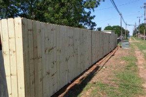 Photo #4: Wood Fences $15 per ft.
