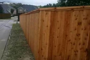 Photo #2: Wood Fences $15 per ft.