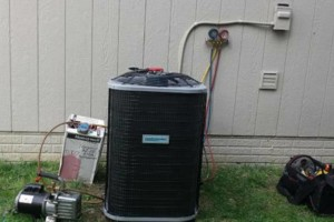 Photo #1: Air Conditioner (AC/ brand new, installed)
