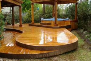 "Photo #1: DECK REFINISHING ""THE DECK GUYS"""