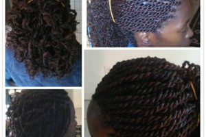 Photo #2: Special pricing: faux locs, ghana braids box braids, rope twist