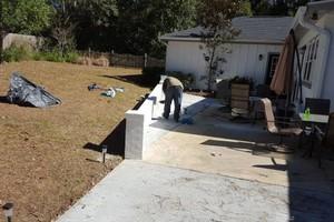 Photo #1: Seminole Concrete, Masonry & Tile