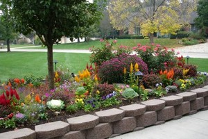 Photo #1: the Mulch Guys - Flower bed Service