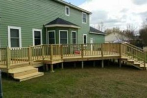 Photo #1: Kelly's Pro Deck and Fence Construction and Repair