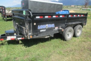 Photo #1: Dump Trailer for rent - $65/half day