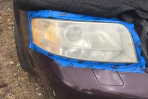Photo #2: HEADLIGHT RESTORATION. $70. MOBILE SERVICE