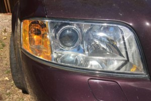 Photo #1: HEADLIGHT RESTORATION. $70. MOBILE SERVICE