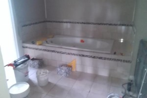 Photo #3: Crescent tile - full bath and kitchen renovation