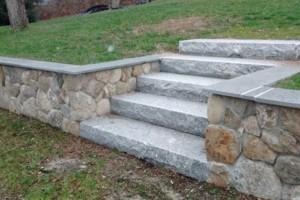 Photo #3: Patios, walkways, Stone walls, Cobblestone. Shep Hardscape Services