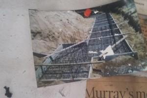 Photo #1: Concrete Foundation Poured