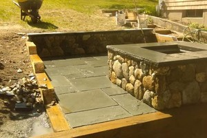 Photo #3: Stone world Landscaping. Good quality work!