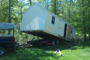 Photo #2: Shed Moving