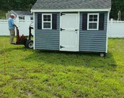 Photo #1: Shed Moving