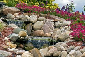 Photo #2: Unique Yardscapes Koi Ponds and Stonework