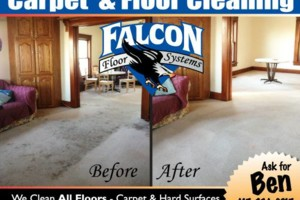 Photo #1: $79.95 Carpet Cleaning. Falcon Floor Systems