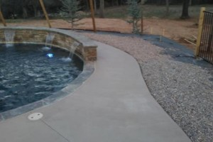 Photo #8: Concrete Staining, Epoxy Flooring, and Pool Deck Resurfacing