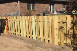 Photo #1: B&C SERVICES - WOOD AND CHAIN LINK FENCING