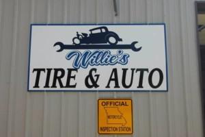 Photo #1: Willie's Tire & Auto