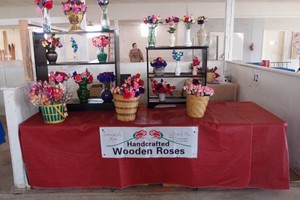 Photo #3: Wooden Roses (Lifelike)