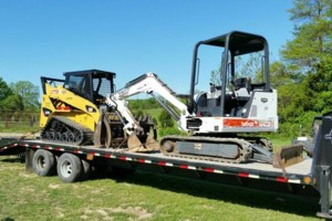 Photo #2: Skid steer and mini excavator services