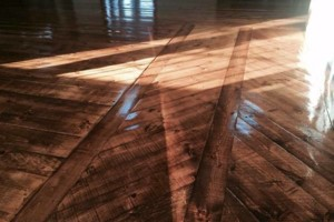 Photo #1: Sand/Refinish/Repair Your Old Floors! Signature Wood Floors