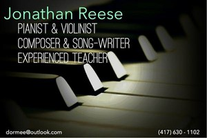 Photo #1: PIANO LESSONS from a Composer & Song-Writer