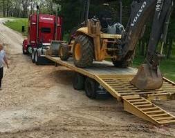 Photo #8: Urban Homes - Backhoe & Dump Truck excavation work