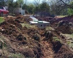 Photo #6: Urban Homes - Backhoe & Dump Truck excavation work