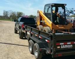 Photo #3: Urban Homes - Backhoe & Dump Truck excavation work