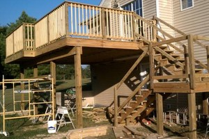 Photo #7: Precision Building Services - PAINTING/DRYWALL/TILE/DECKS!!!