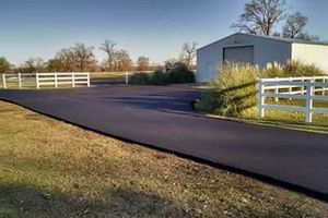 Photo #1: Asphalt Installation Repairs/ Seal coating