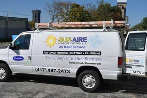 Photo #15: Air Conditioning and Heat Pump repair. Sun-Aire Comfort Systems