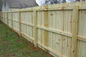 Photo #3: Wood Fence. Fair competitive price!
