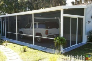 Photo #12: Screen Enclosures - patio, deck, carport etc