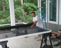 Photo #5: Screen Enclosures - patio, deck, carport etc