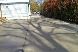 Photo #2: Concrete Cement Driveways, slabs, sidewalks, new/ crack repair