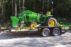 Photo #1: Bush hogging/ light dirt work - $40hr with a 2hr min!