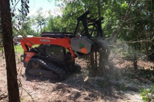 Photo #6: Land Clearing: Mulcher, Excavator, Dozer, Tree removal, gravel