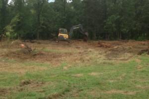 Photo #2: Excavator, Backhoe & Brush hog