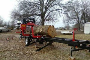 Photo #4: Portable sawmill for hire - $45/hr