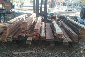 Photo #3: Portable sawmill for hire - $45/hr