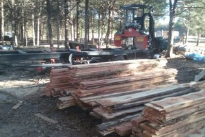 Photo #1: Portable sawmill for hire - $45/hr