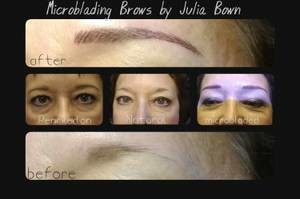 Photo #8: Permanent Great Looks. Microblading Eyebrows