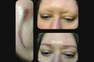 Photo #1: Permanent Great Looks. Microblading Eyebrows