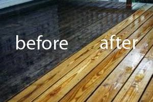 Photo #1: Pressure Washing - High Access patio and path Cleaning