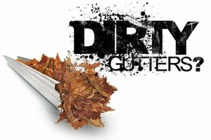 Photo #1: Gutter cleaning & repairs. Call William Thomas!