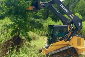 Photo #7: SITE PREP, LAND CLEARING, FOOTINGS, DRIVEWAYS ETC.