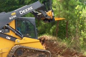 Photo #5: SITE PREP, LAND CLEARING, FOOTINGS, DRIVEWAYS ETC.
