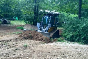 Photo #4: SITE PREP, LAND CLEARING, FOOTINGS, DRIVEWAYS ETC.