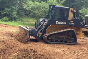 Photo #3: SITE PREP, LAND CLEARING, FOOTINGS, DRIVEWAYS ETC.